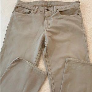 Banana Republic men's straight cut jeans size 33